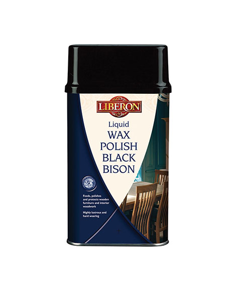 Liquid Wax Polish Black Bison