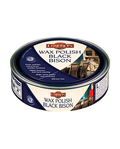 Wax Polish Black Bison Paste