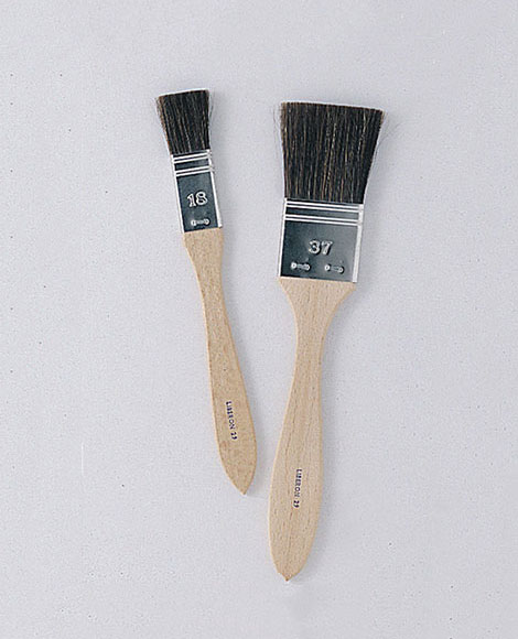 Flat Lacquer Ox Hair brush